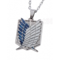 Attack on Titan Scouting Legion symbol - Silver