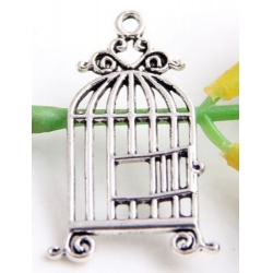 Bird Cage flat - Silver