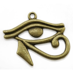 Egyptian Eye of Horus - Brass