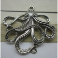 Octopus (50mm wide) - Silver
