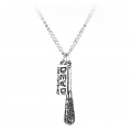 Walking Dead baseball bat pendant