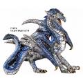 Regal Blue Dragon
