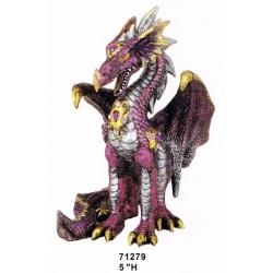 Attentive Purple Dragon