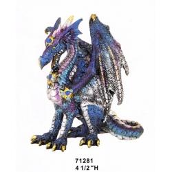 Attentive Blue Dragon