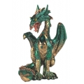 Green Dragon with Gem