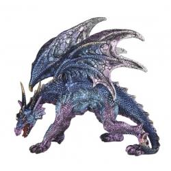 Crouching Blue Dragon