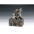 Steampunk Dragon Box - Silver