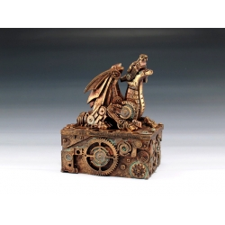 Steampunk Dragon Box - Copper