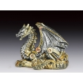 Steampunk Dragon - Silver & Gold